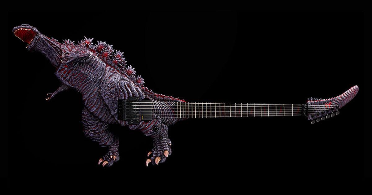 Monströs: Gitarrenbauer ESP verkauft Godzilla-Gitarre