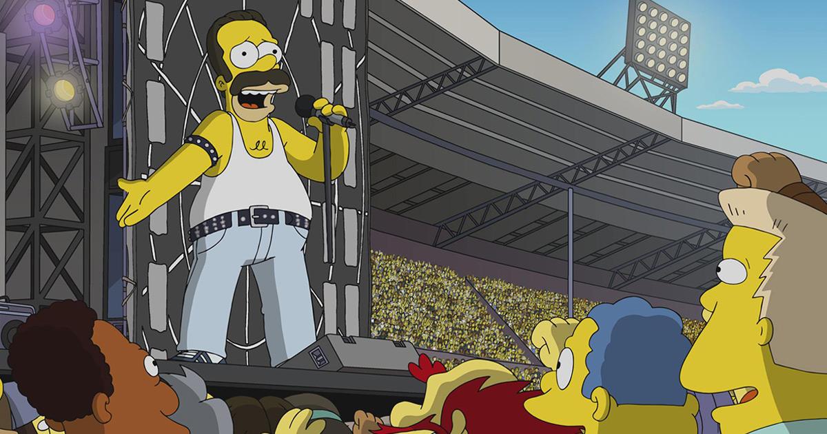 The Simpsons: Homer wird zu Freddie Mercury