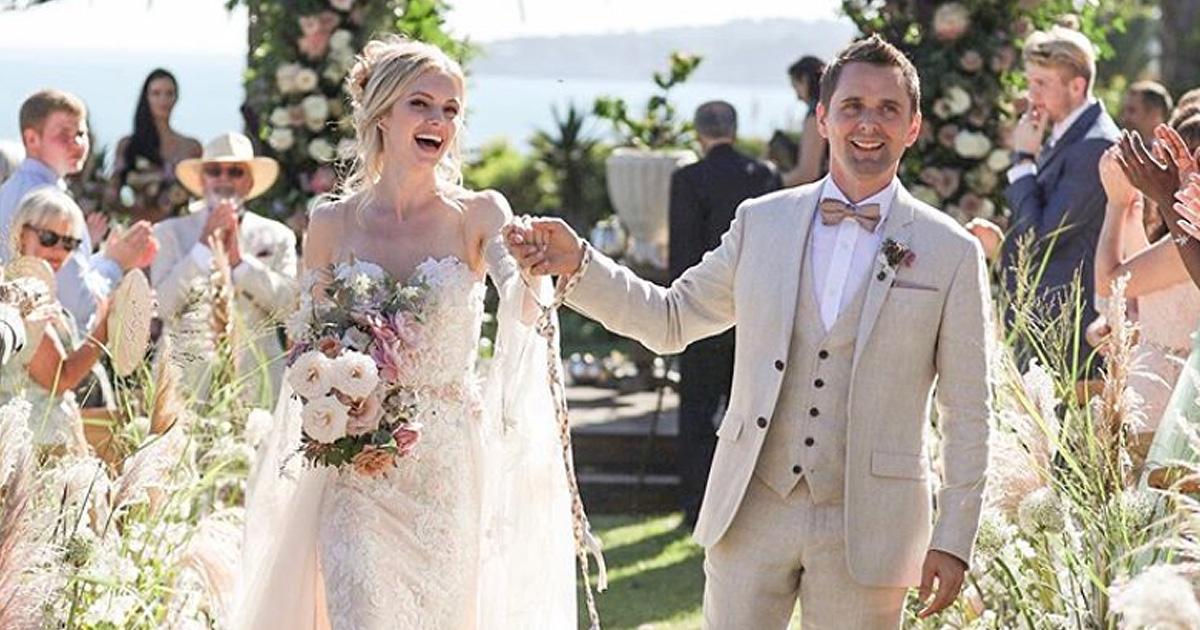 Muse: Sänger Matt Bellamy hat geheiratet