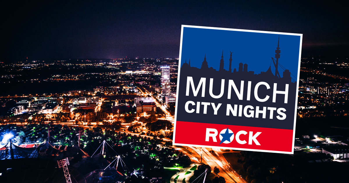 Neu in den ROCK ANTENNE Streams: Munich City Nights!