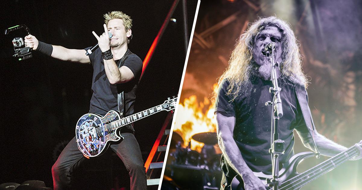"""Nickelback: """"Wir würden gerne ein Album mit Slayer-Covern aufnehmen"""""""