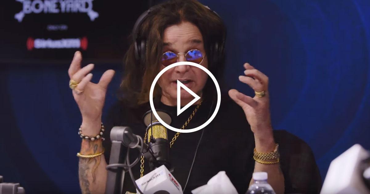 Ozzy Osbourne: Das erste Videointerview seit seinem Unfall
