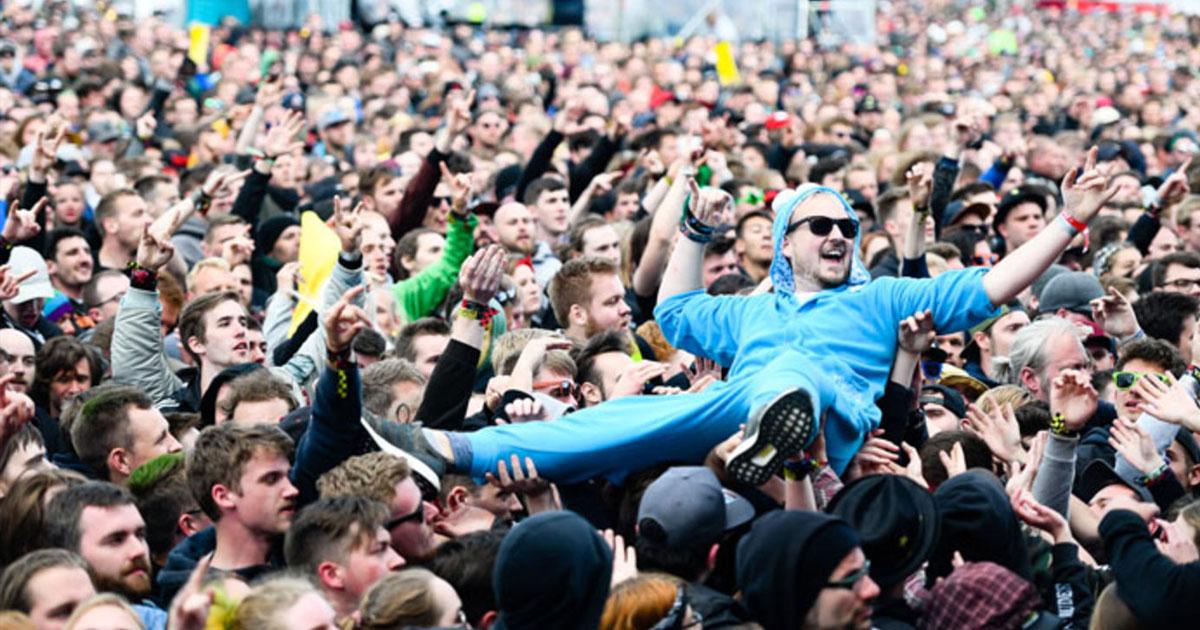 Rock am Ring: 85.000 feierten mit Tool, Slipknot und Die Ärzte