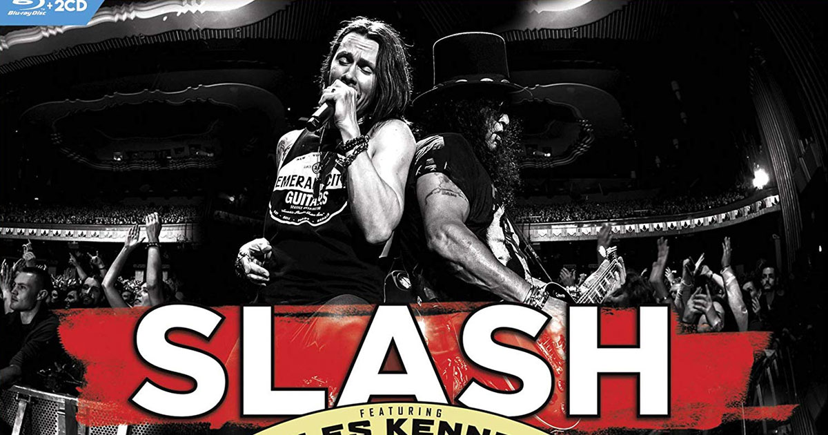 "Slash: ""Living The Dream""-Tour erscheint als DVD"