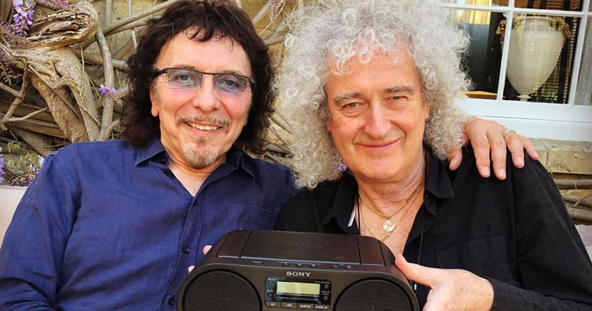 Legenden-Treffen: Was planen Tony Iommi und Brian May?