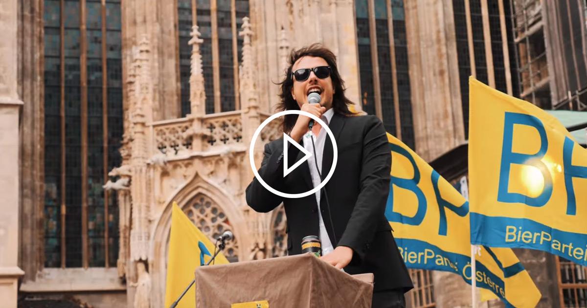 TURBOBIER: Der Wahlkampf-Song für die Bierpartei Österreich