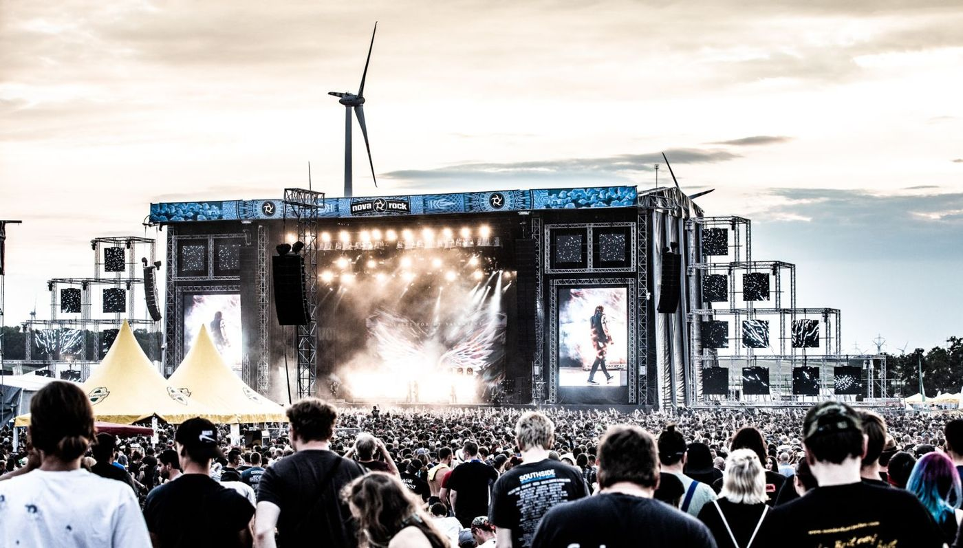 Wegen Corona: Nova Rock Festival abgesagt