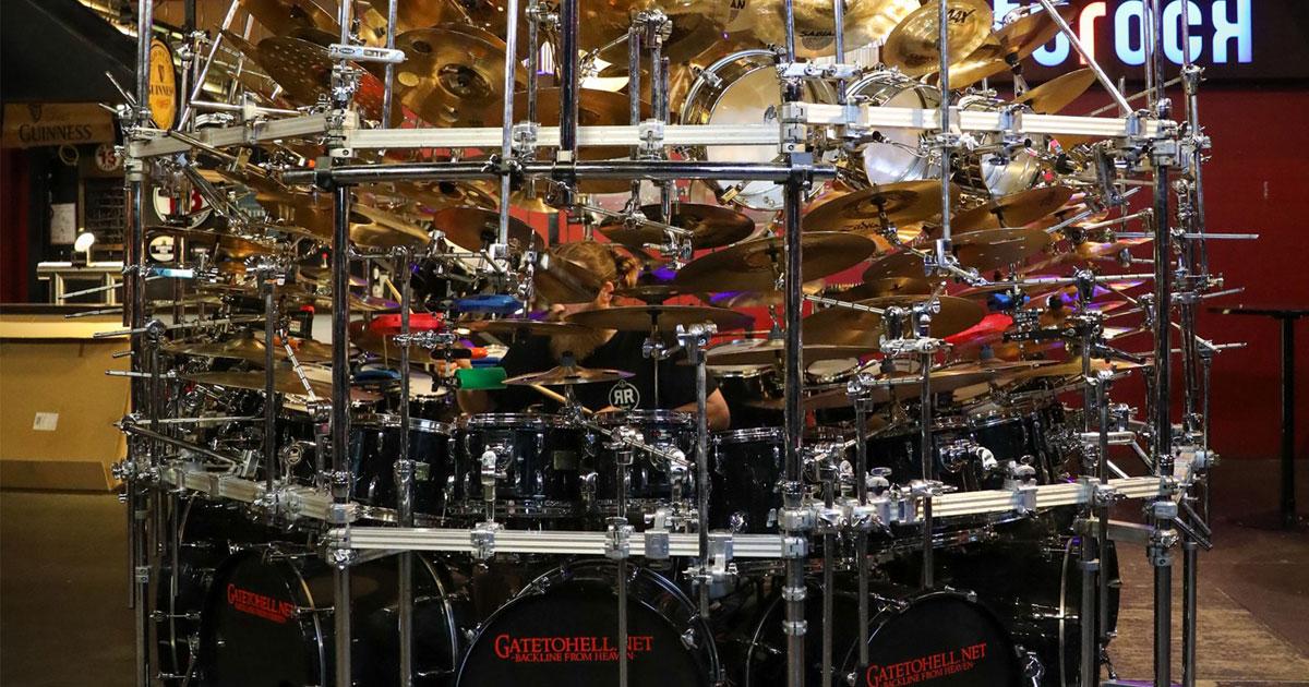 Weltrekord: Hier seht ihr das größte Schlagzeug der Welt