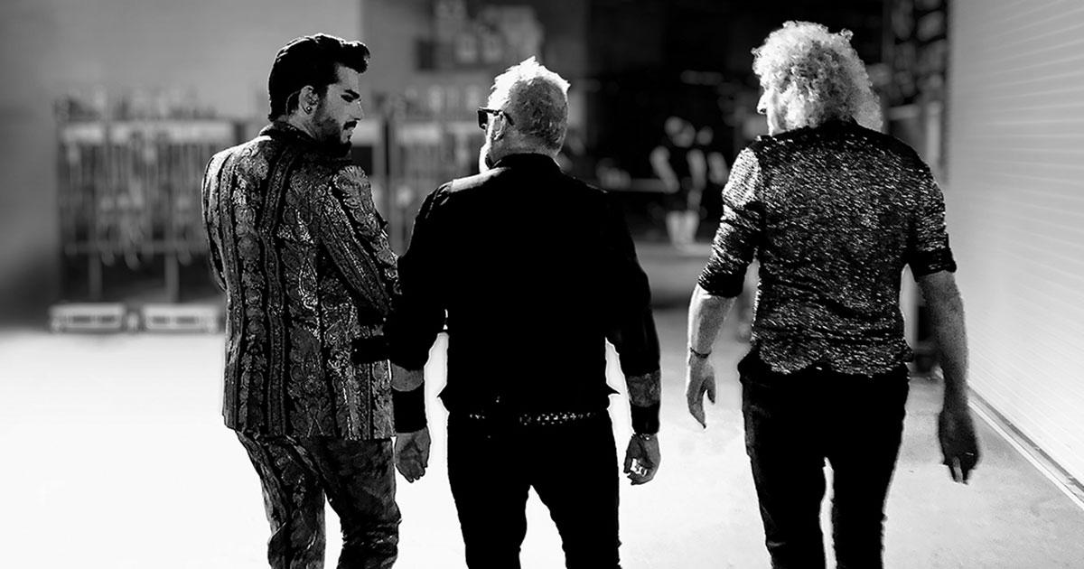 Queen: Hört die erste Aufnahme mit Adam Lambert in der ROCK ANTENNE Radiopremiere