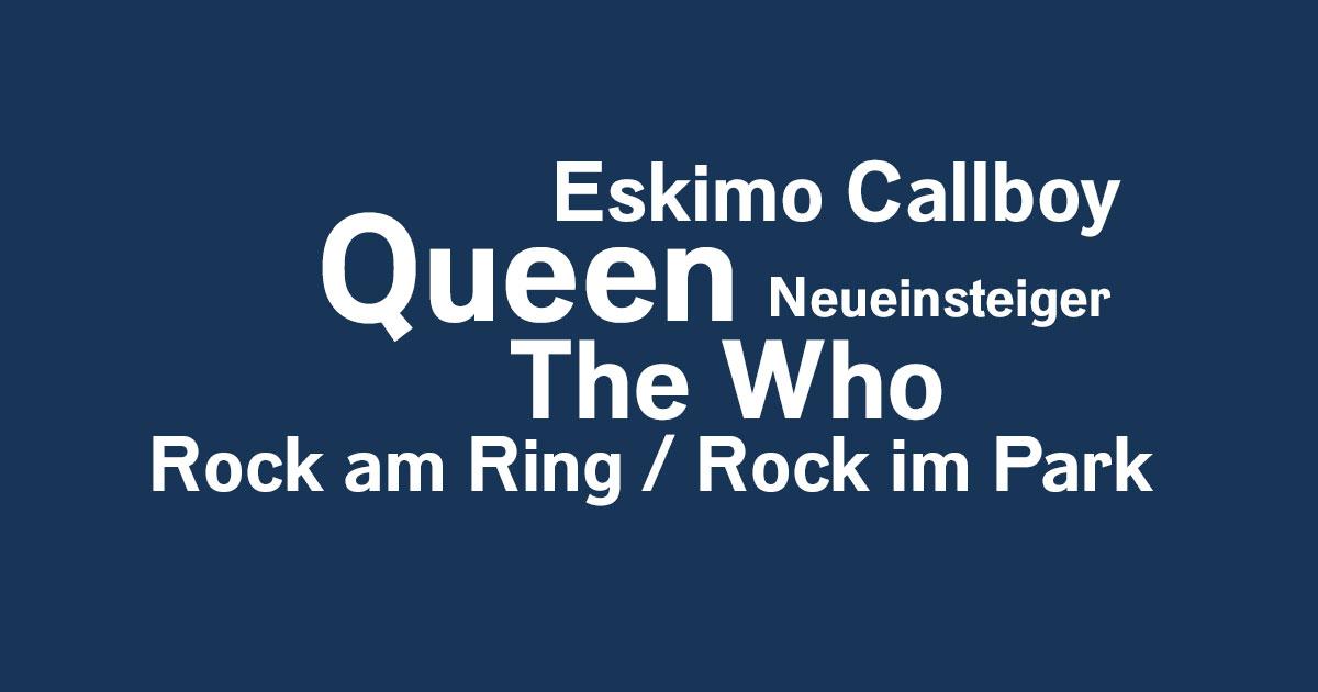 Das Rock News-Update der Woche vom 12.04. bis 18.04.