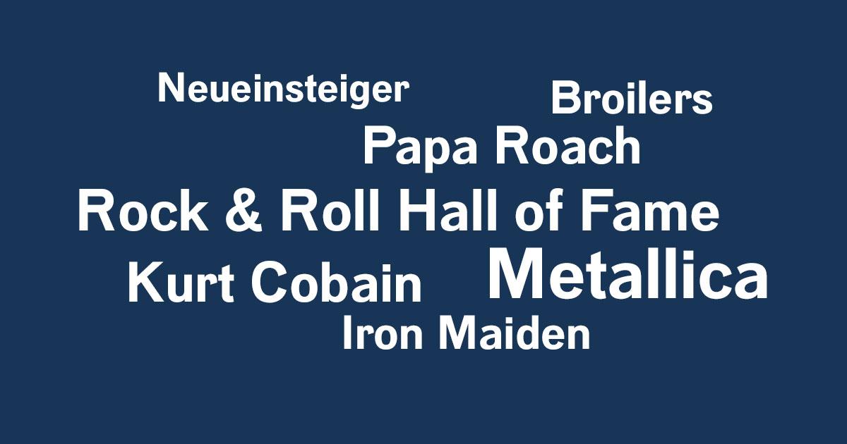 Das Rock News-Update der Woche vom 10.05. bis 16.05.