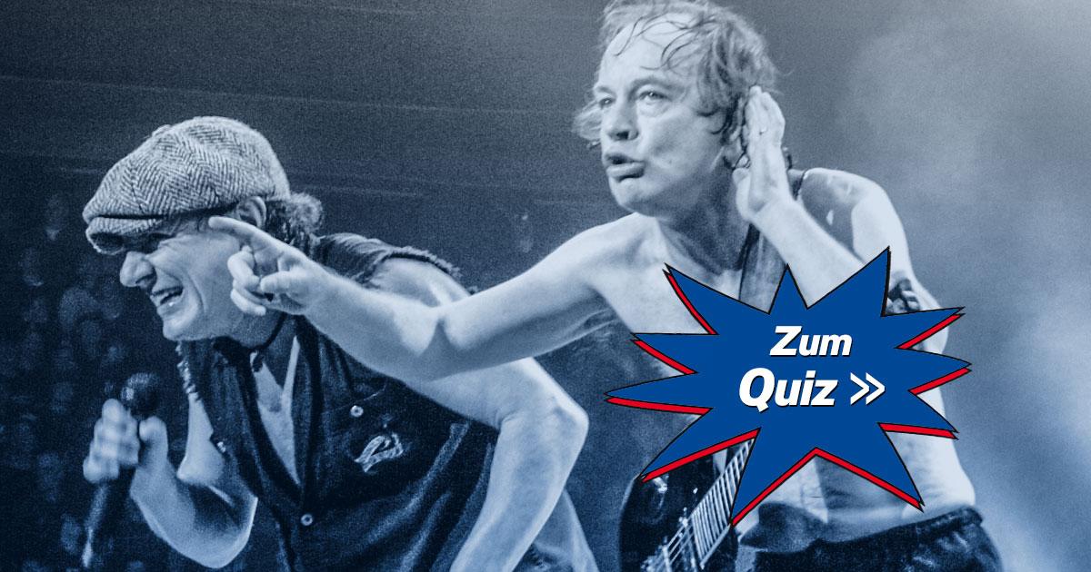 Are You Ready: Wie textsicher bist du bei AC/DC?