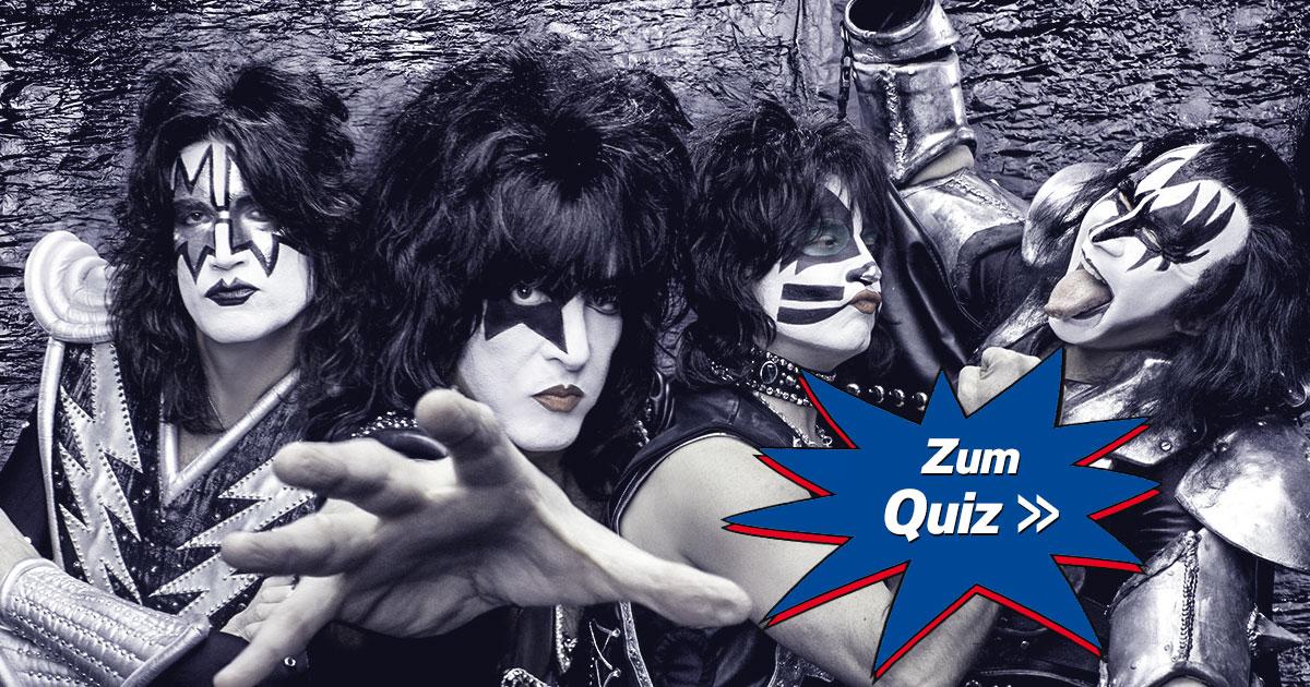 KISS Quiz: Wie gut kennst du die heißeste Band der Welt?