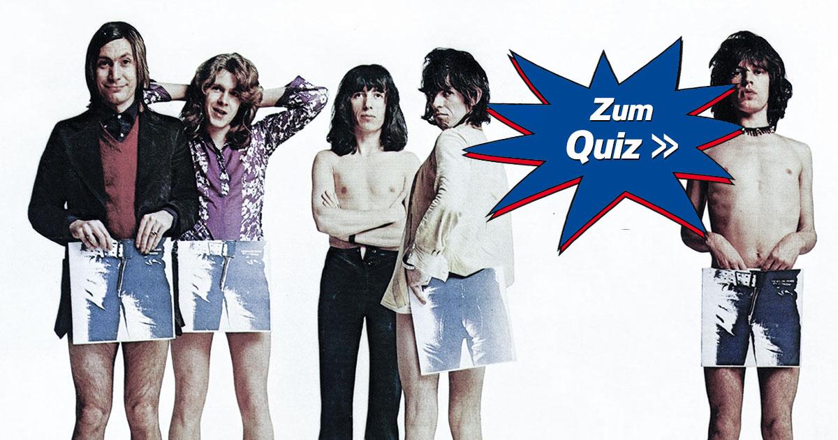 Quizzes to Babylon: Wie gut kennst du die Rolling Stones?