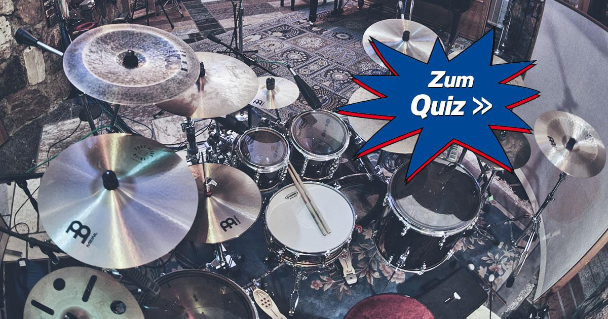 Bang your Drum: Teste dein rockendes Schlagzeuger-Wissen!