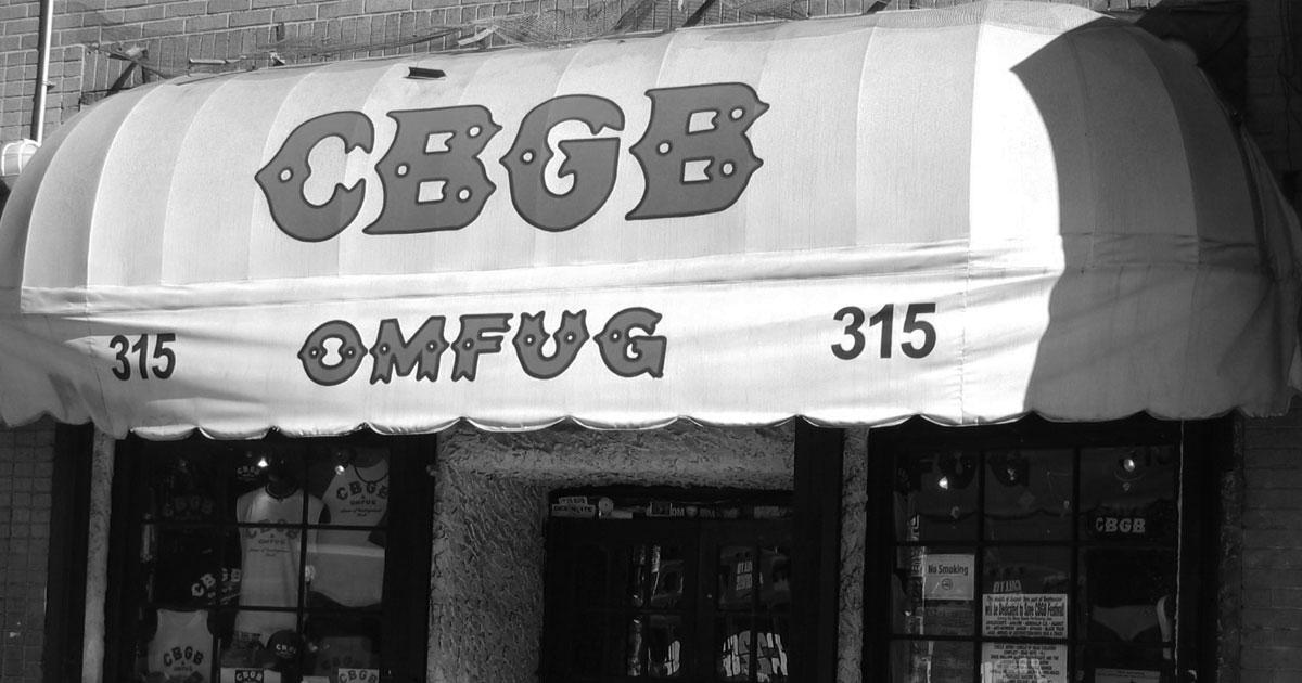CBGB: Die besten Backstage Stories aus dem legendären Club