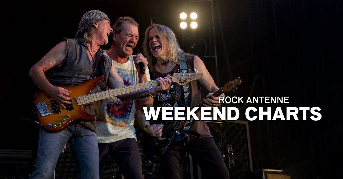 Weekend Charts: Die kultigsten Deep Purple-Songs!
