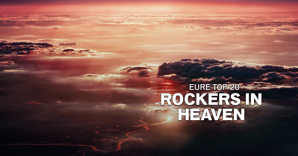 Weekend Charts: Eure Top 20 Rocker in Heaven!