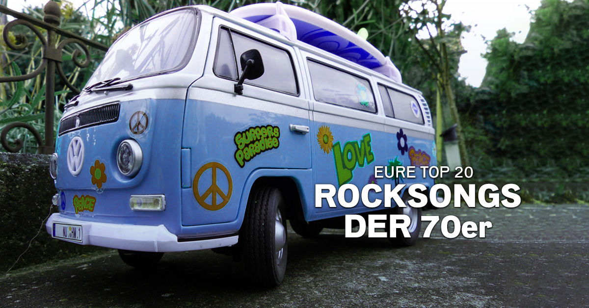 Weekend Charts: Eure Top 20 Rocksongs der 70er!
