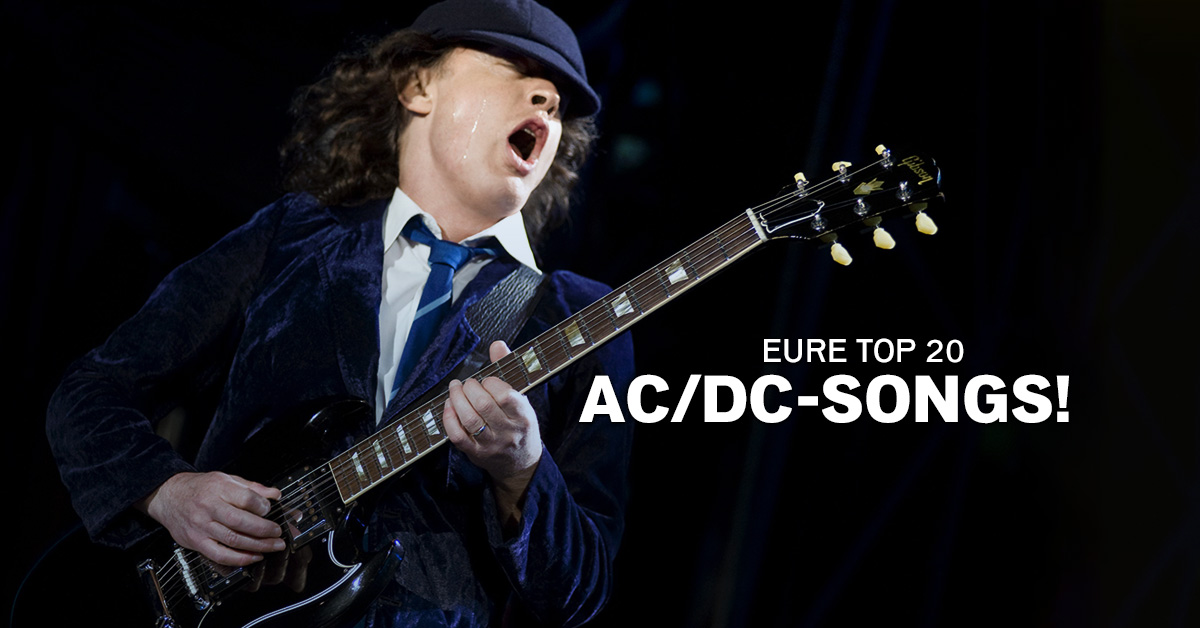 Weekend Charts: Eure Top 20 AC/DC-Songs!