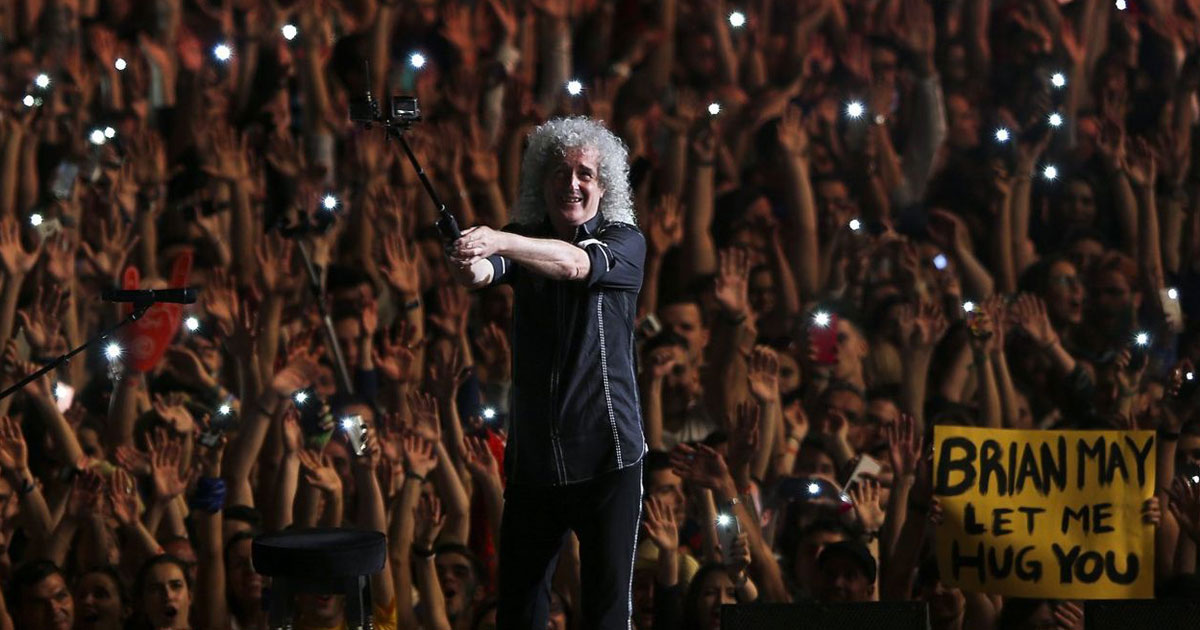 He will rock you: Happy Birthday, Brian May!
