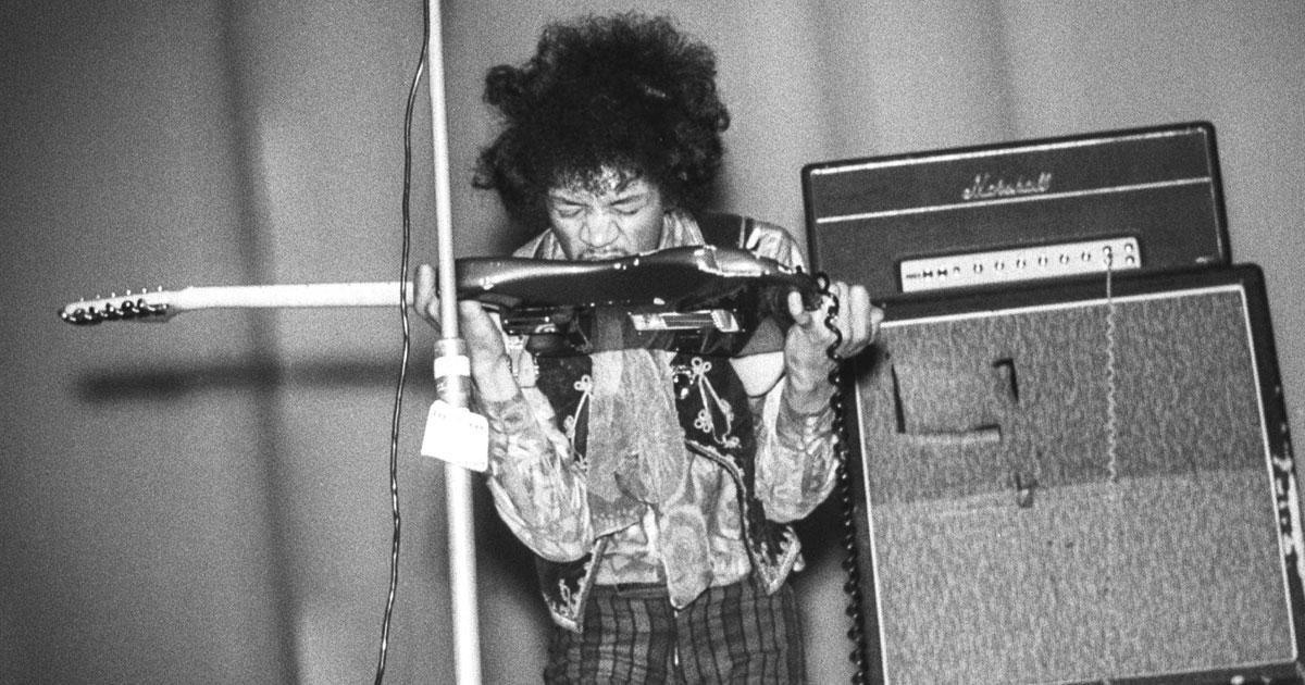 Jimi Hendrix: Wir reisen zu seinem ersten Konzert