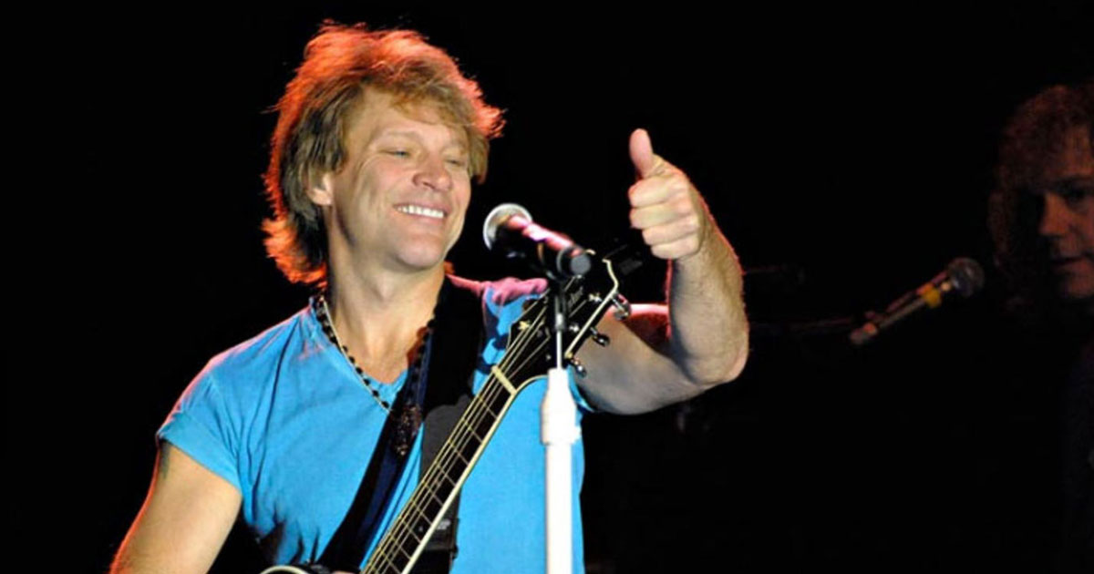 "Unser Porträt von Jon Bon Jovi: ""Never Say Goodbye"""