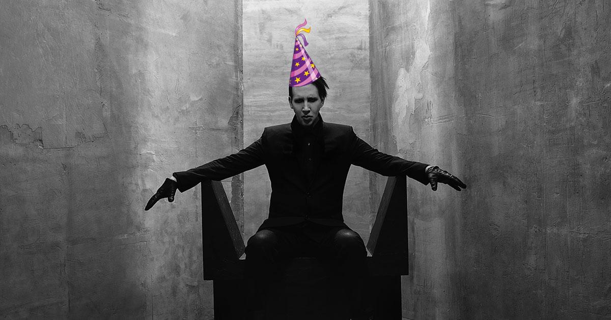 Marilyn Manson: Fünf verrückte Storys zum 50. Geburtstag