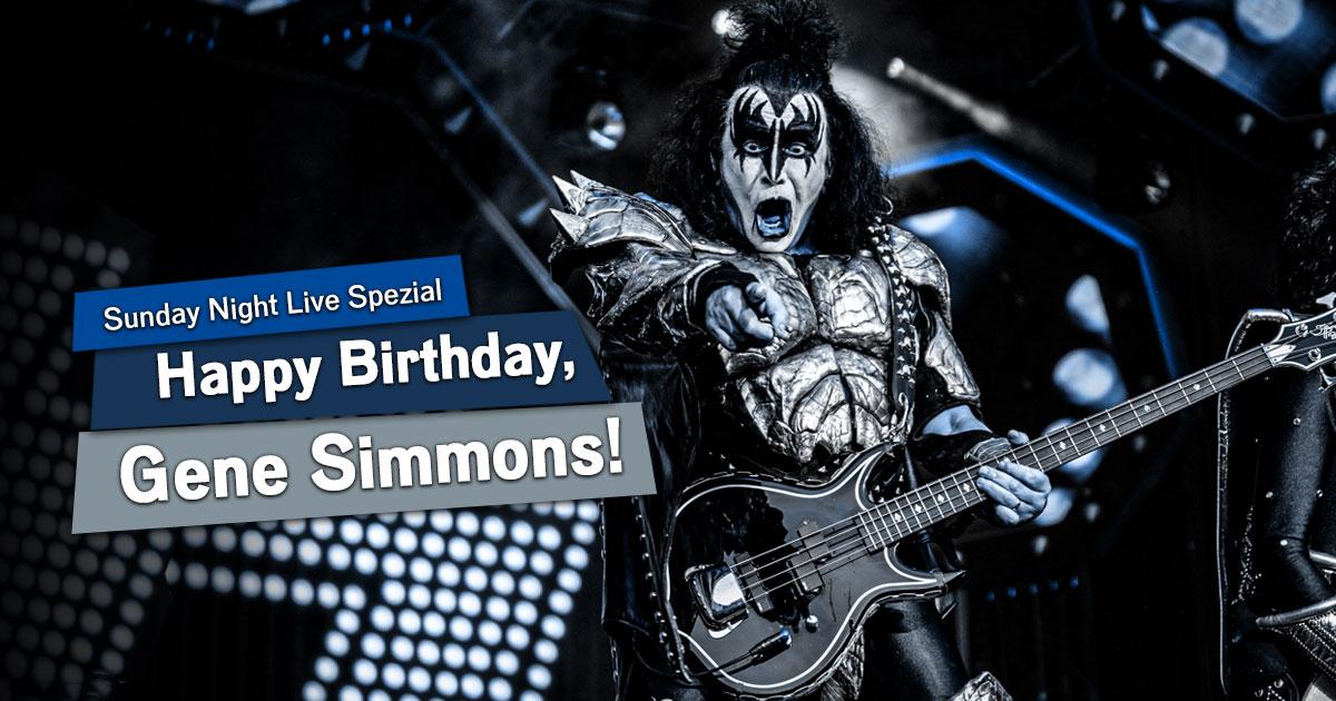 Happy Birthday, Gene Simmons: Unser Sunday Night Live KISS-Spezial