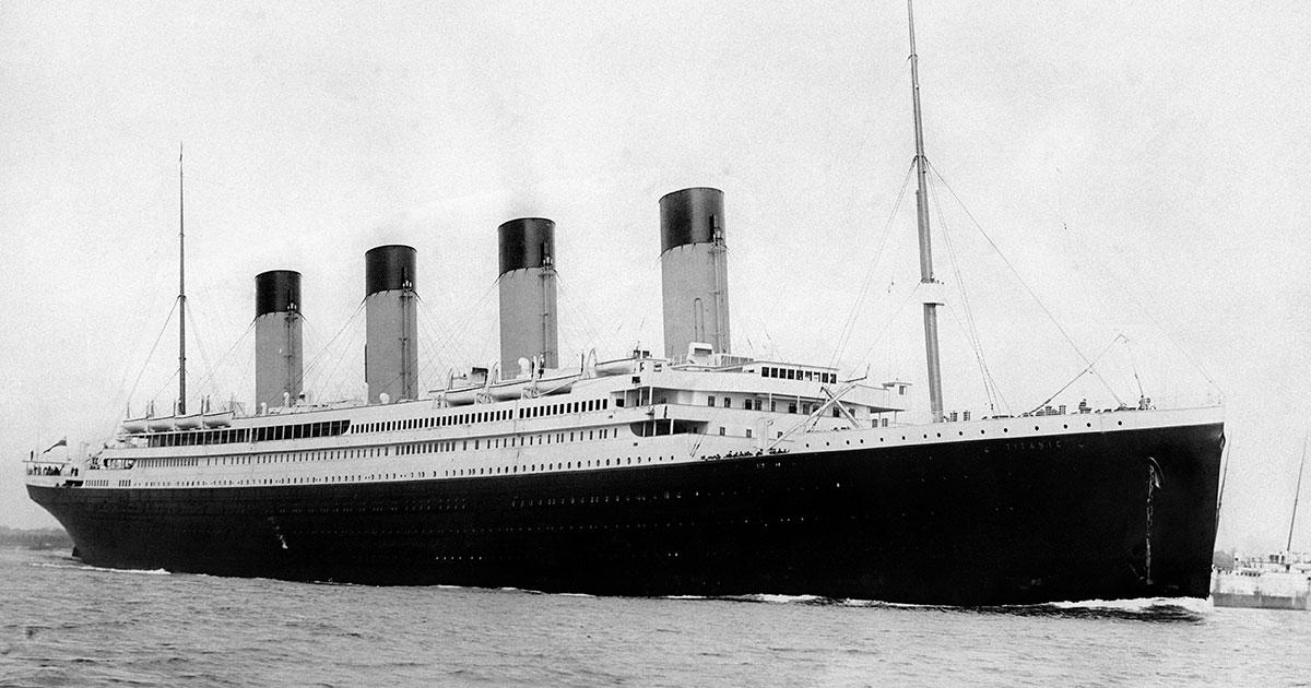Die 10 besten Rock-Songs... zur Titanic