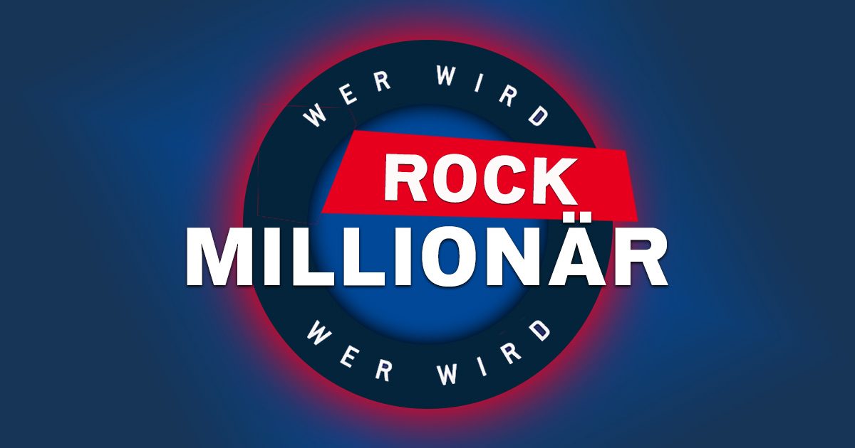 """20 Jahre """"Wer wird Millionär"""": Knackt ihr die Rock-Million?"""