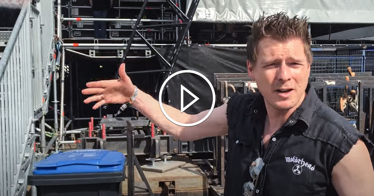 Bang Your Head!!! Festival: Behind the Scenes mit dem Metalmoser