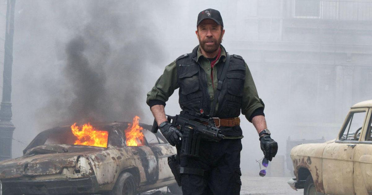 Zum 81. von Chuck Norris: Die rockigsten Chuck Norris-Witze