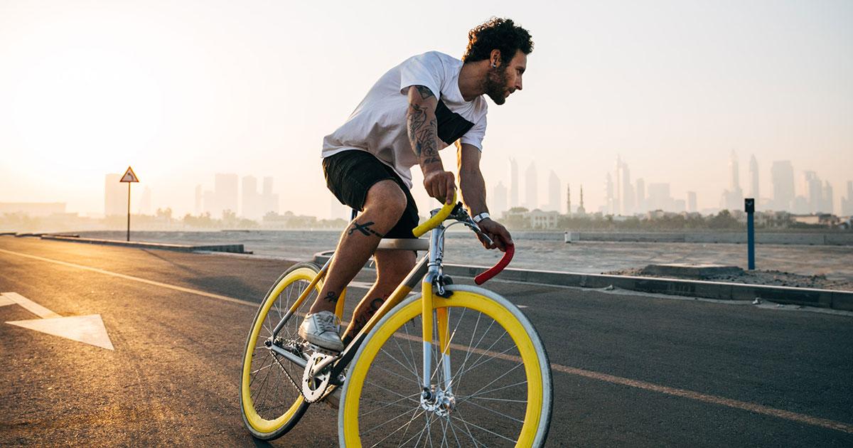 Die 10 besten Rock-Songs... zum Fahrradfahren