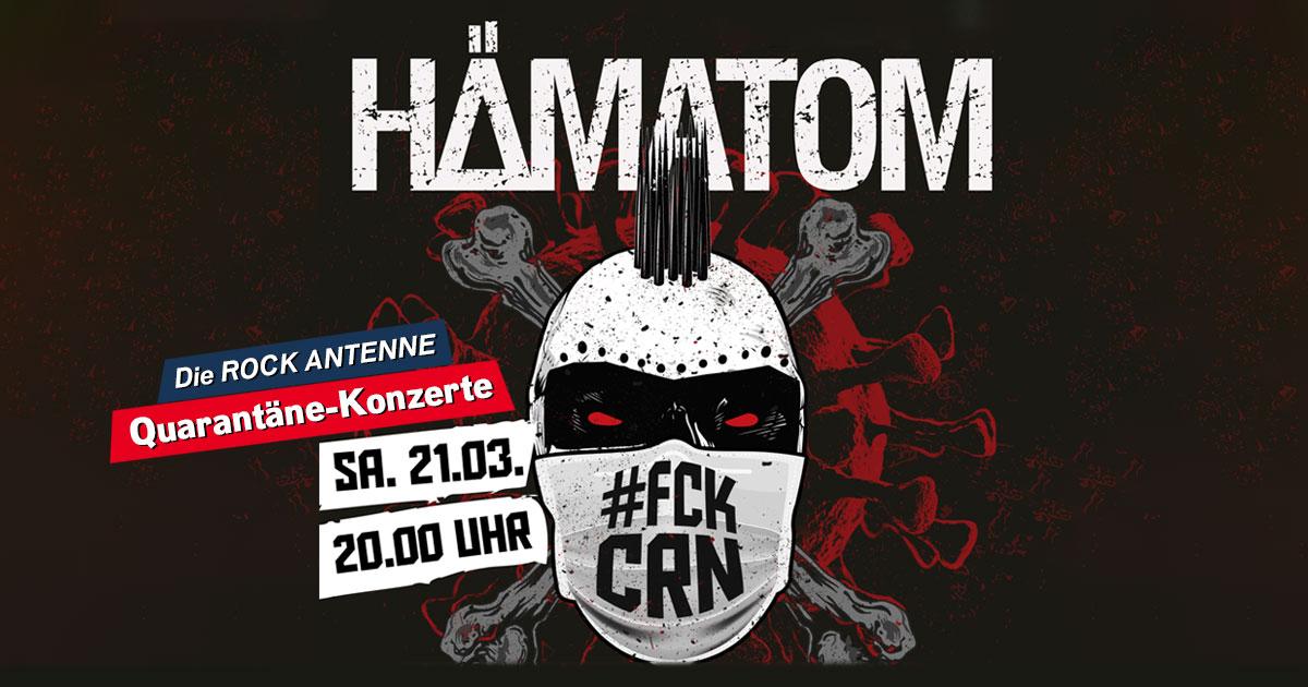 Hämatom live aus der Quarantäne: Seht das Konzert hier im Stream!