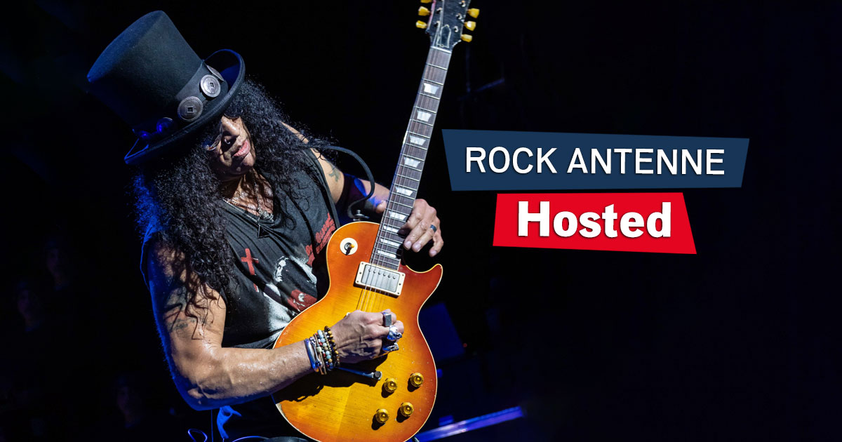 Hosted: Slash am Sonntag im ROCK ANTENNE Interview