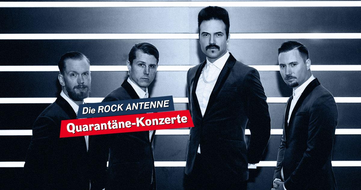 Royal Republic live im Stream: Seht hier das Quarantäne Konzert!
