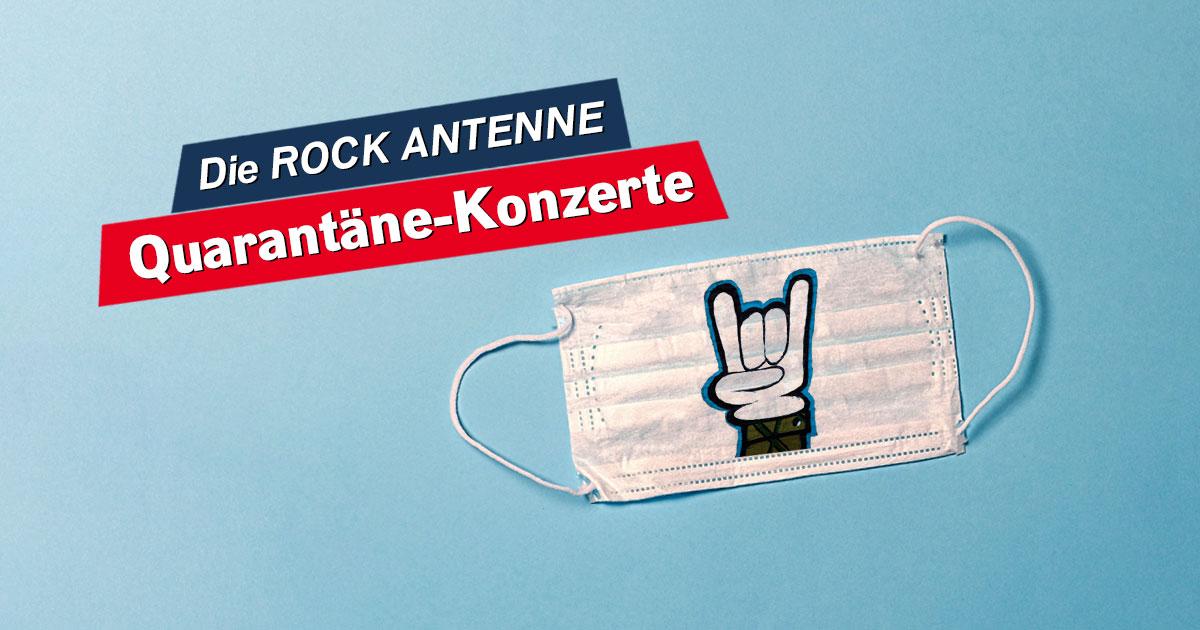 Die ROCK ANTENNE Quarantäne Konzerte: Abrocken - mit Sicherheit!