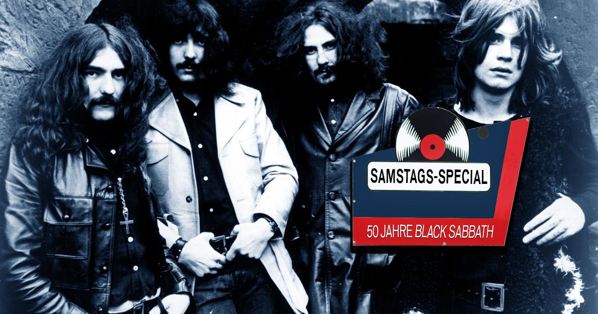 Samstags-Special: 50 Jahre Black Sabbath!