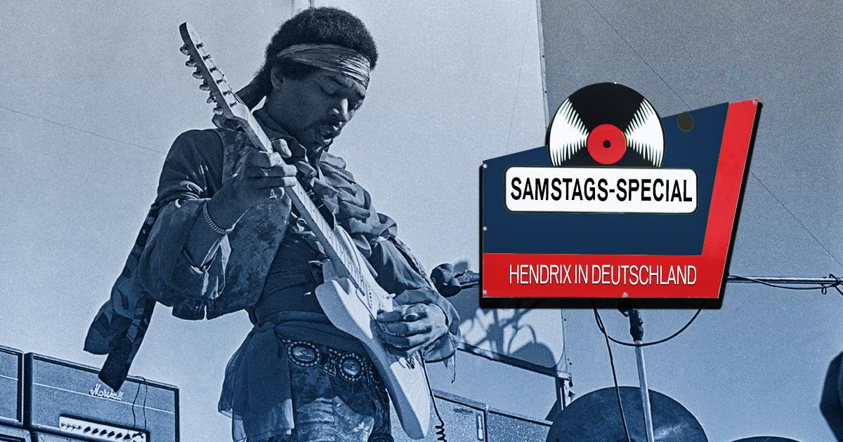 Samstags-Special: Auf den Spuren von Jimi Hendrix in Deutschland