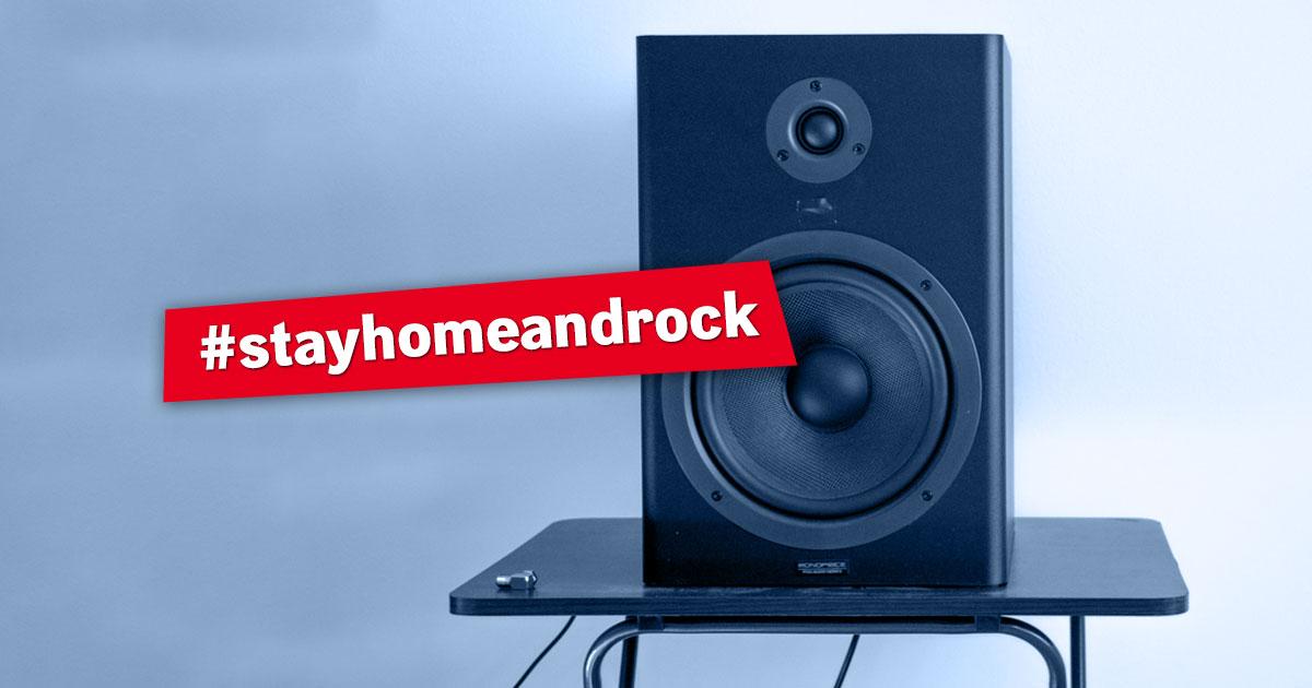 #stayhomeandrock: Hier könnt ihr euch das Konzertfeeling für daheim holen!