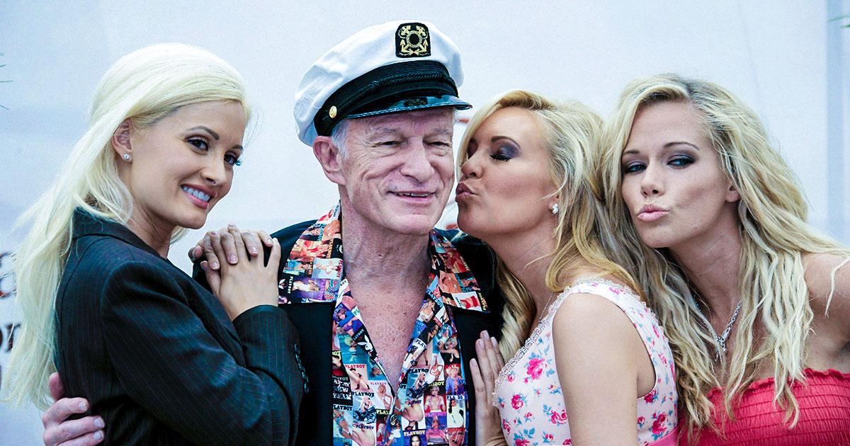 Hugh Hefner: Ein Playboy und die Rock-Stars