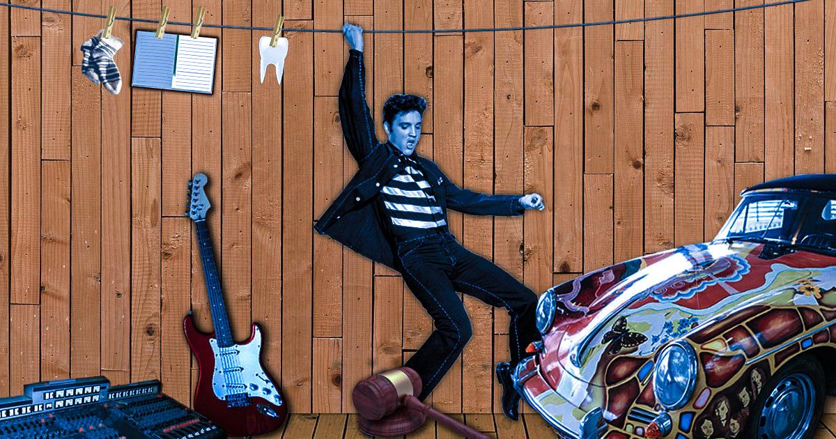 Rockstars unter dem Hammer: Die kuriosesten Auktionen