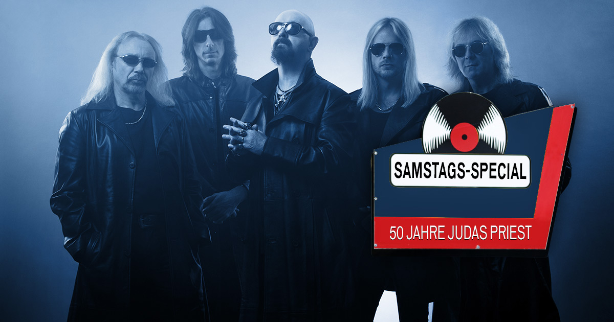 50 Jahre Judas Priest: Das ROCK ANTENNE Samstags-Special am 16.10.