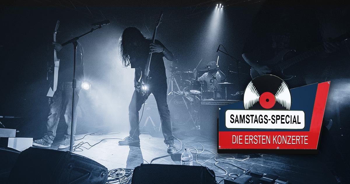 Die ersten Konzerte: Das ROCK ANTENNE Samstags-Special