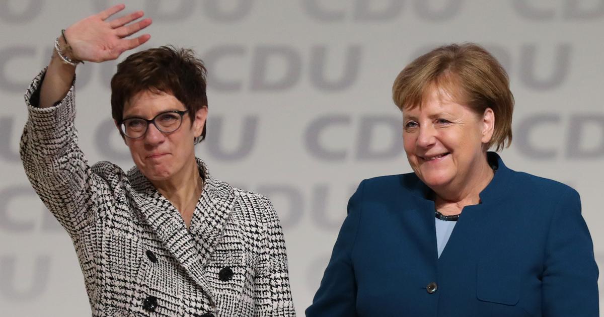 Neue CDU-Spitze: Annegret Kramp-Karrenbauer übernimmt Merkels Nachfolge