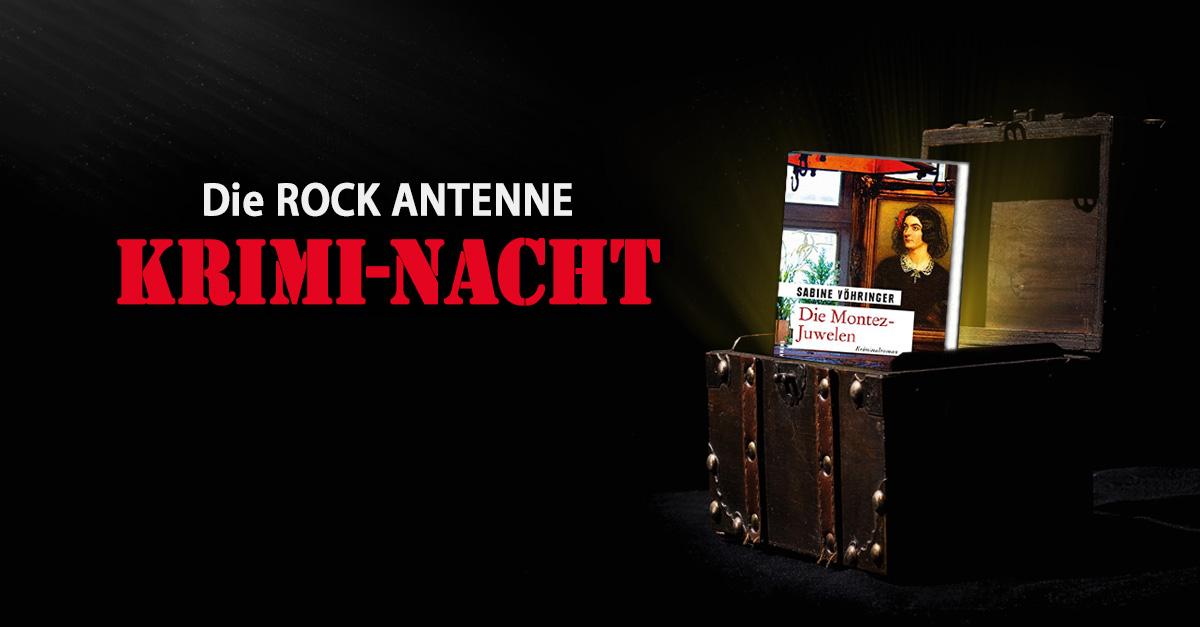 """""""Die Montez-Juwelen"""": Die Krimi-Nacht auf ROCK ANTENNE"""