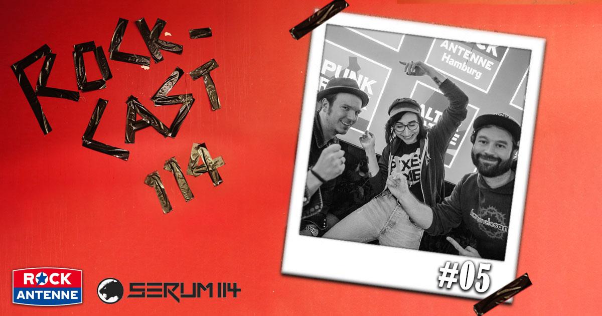 Rock-Cast 114 - Die Late Night Show: Folge 5 mit Julie Gehrlein von ROCK ANTENNE