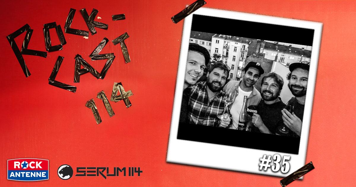Rock-Cast 114 - Die Late Night Show: Folge 35 - Die HURRA Weinprobe