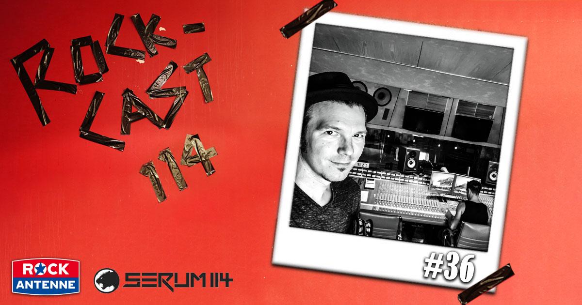 Rock-Cast 114 - Die Late Night Show: Folge 36 - Im Studio mit Serum 114